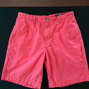 "Men's Vineyard Vines Club Shorts Rhubarb 32"" waist"